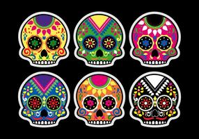 Vettore Dia De Los Muertos