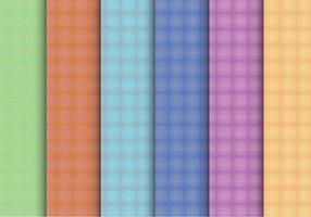 Vettori di pattern plaid creativi