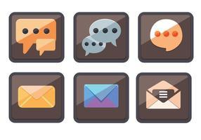 Vettori di icone Sms
