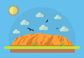 Illustrazione vettoriale del Grand Canyon