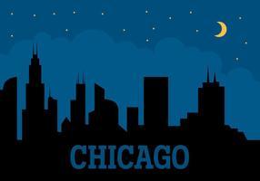 Città di Chicago vettore