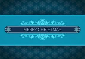 Buon Natale sfondo blu