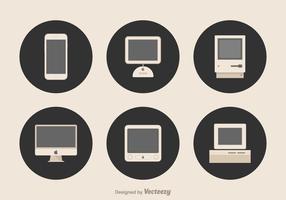 Vettore di dispositivi Apple
