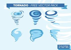 Pacchetto di illustrazioni vettoriali di tornado