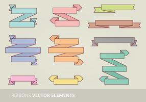 Set nastro vettoriale