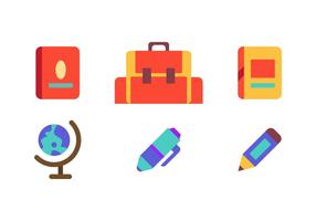 Icone vettoriali gratis scuola
