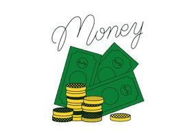 Vettore di denaro