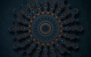 intricato sfondo di mandala