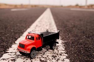 model van de vrachtwagen