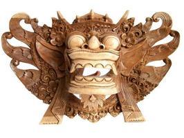 traditioneel indonesisch (balinees) masker-souvenir